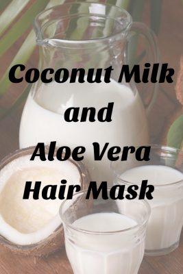 Coconut Milk and Aloe Vera